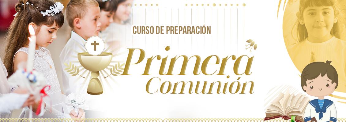 Curso de preparación para la Primera Comunión